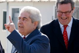 Christofias heads the island's internationally recognised government of Cyprus [EPA]