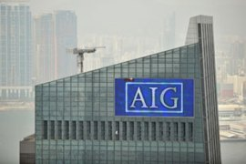 AIG's business includes retail financial products such as insurance and guaranteed annuities [AFP]