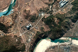 North Korea's nuclear programme willbe up for discussion at the summit [DigitalGlobe]