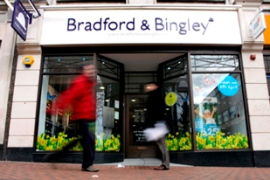 Bradford and Bingley announced the cutting of 370 jobs last week [AFP]