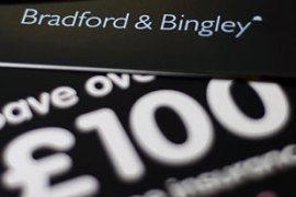 Bradford and Bingley is the second British bank to be nationalised this year [AFP]
