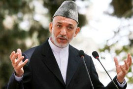 Karzai said he would protect Taliban leaders if they entered into talks [File: EPA]