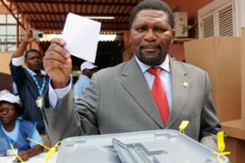 Samakuva said he had requested the votebe re-held because of delays [AFP]