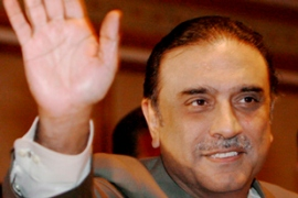 Zardari said his government had protested to the US about its recent incursions into Pakistan [EPA]
