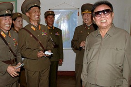 Speculation has been growing over the health of North Korean leader Kim Jong-il [EPA]