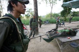 At least one Cambodian soldier was reported killed in the fighting [AFP]
