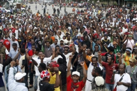 Thousands of Papuans demanded a referendum on independence from Indonesia [ AFP]