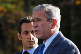Bush is yet to set a date for the global summit [Reuters]