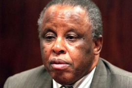 Mogae stepped down in April 2008, handing power peacefully to Seretse Khama Ian Khama [AP]