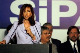 Kirchner defended the move as being no different to bailouts in the US and UK [Reuters]