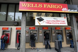 Wells Fargo is one of 10 US banks found to need more capital if an economic crisis deepens [AFP]