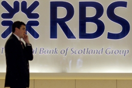 RBS has indicated that it could post its first ever annual loss this year [AFP]
