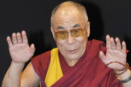 The Dalai Lama has called a meeting of Tibetan exiles to discuss a change of strategy towards Beijing [AFP]