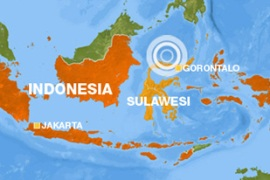 Powerful quake rocks Indonesia