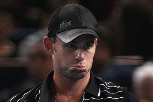 Andy Roddick shows his sad face [GALLO/GETTY]
