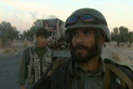 Afghan forces dispatched the Taliban fighters, but not before the lorry was destroyed
