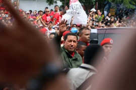 The setbacks notwithstanding, the results could help Chavez to further consolidate his power [AFP]