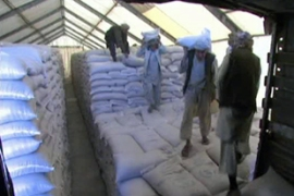Aid from the World Food Programme is running low as Afghanistan braces for heavy winter snow