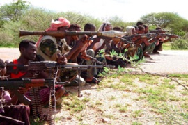 Shabaab fighters control most of south Somalia [EPA]