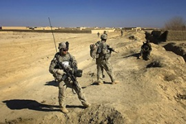 Denmark has about 700 troops in the NATO force in Afghanistan [AFP]