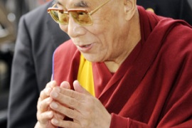 The Dalai Lama says the situation is Tibet is getting worse and his strategy has failed [AFP]
