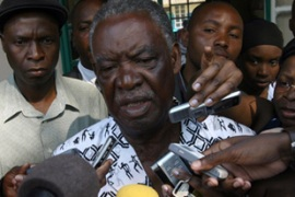Opposition leader Michael Sata is refusing to accept defeat in last week's presidential poll [AFP]