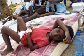 The World Health Organisation says 18,413 have been hit by cholera and 978 have died [AFP]
