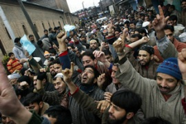 Separatist leaders have called on Kashmir's Muslims to boycott the elections [AFP]