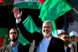 Haniya also criticised extending the presidency of Mahmoud Abbas as lacking legitimacy [EPA]