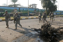 Iraqi officials say the attacks  can be interpreted as signals of rejection to the US security pact [AFP]
