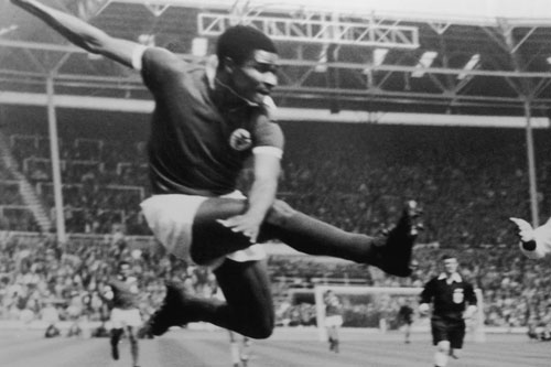 1965 winner - Mozambique born Eusebio, who played for 15 years at Portuguese club Benfica [GALLO/GETTY]