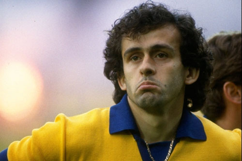Winner consecutively in 1983, '84 and '85, French midfielder Platini is current president of Uefa [GALLO/GETTY]