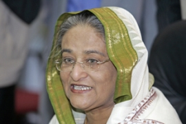 Most of Sheikh Hasina's family were killed following a military coup in 1975 [AFP]