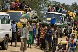 Hundreds of thousands have been displaced by the conflict in eastern Congo [Reuters]