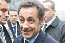 Sarkozy said he was 'convinced we will arrive at a positive conclusion' [AFP]