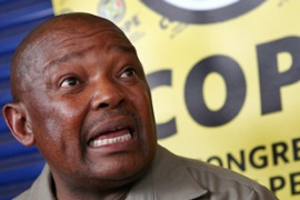 Lekota's breakaway COPE party is expected to continue Mbeki's pro-business policies [AFP]