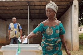 Voters from Tain determined the outcome of the presidential election in Ghana [AFP]