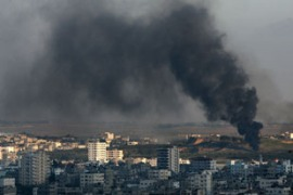 Israel's bombardment of Gaza led to the deaths of hundreds of Palestinian civilians [AFP]