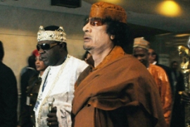Gaddafi, the Libyan leader, pressed for greater regional government at the summit [AFP]
