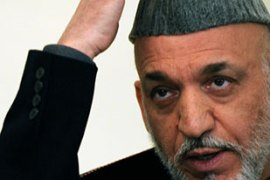 Karzai is leading opinion polls but may face a presidential runoff [AFP]