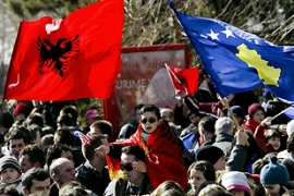Kosovo declared itself independent from Serbia in February 2008 [AFP]
