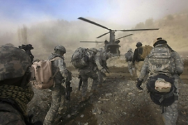 The US and Nato military commander in Afghanistan has warned that the mission risks failure [AFP]