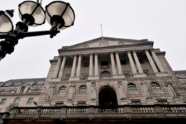 The Bank of England cut interest rates to a record low of 0.5 per cent in March [EPA]