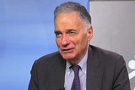 Video: Nader on Madoff