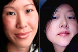 Laura Ling and Euna Lee are thought to have been seized while filming on the North Korea border [AP]