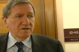 Richard Holbrooke blamed the Taliban for causing civilian suffering in Pakistan