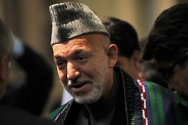Karzai has led in successive partial ballot counts announced since the poll [AFP]