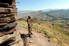 Recent operations have taken the military into Buner and Upper Dir districts, and the Swat valley [EPA]