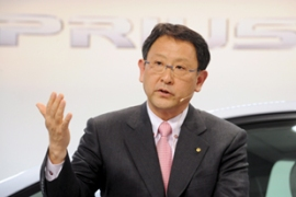 Toyoda faces the difficult task of reviving the world's biggest car-maker [EPA]