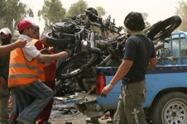 Motorcycles have been banned after being used in attacks killing more than 100 last week [AFP]